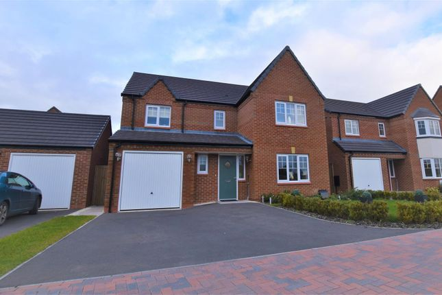 Thumbnail Detached house for sale in Lapwing Place, Stafford