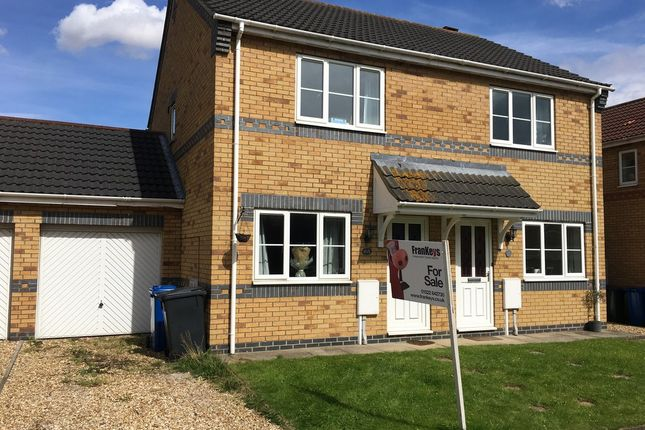 Semi-detached house to rent in Lady Meers Road, Cherry Willingham, Lincoln
