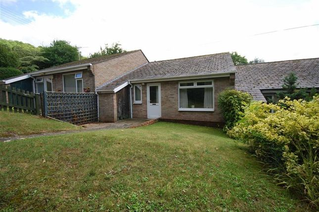 Thumbnail Terraced bungalow for sale in The Close, Ledbury, Herefordshire