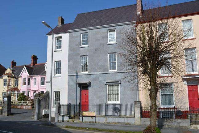 Thumbnail Flat to rent in Picton Terrace, Carmarthen, Carmarthenshire