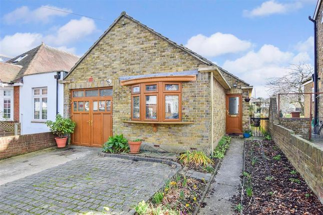 Thumbnail Detached bungalow for sale in Second Avenue, Gillingham, Kent