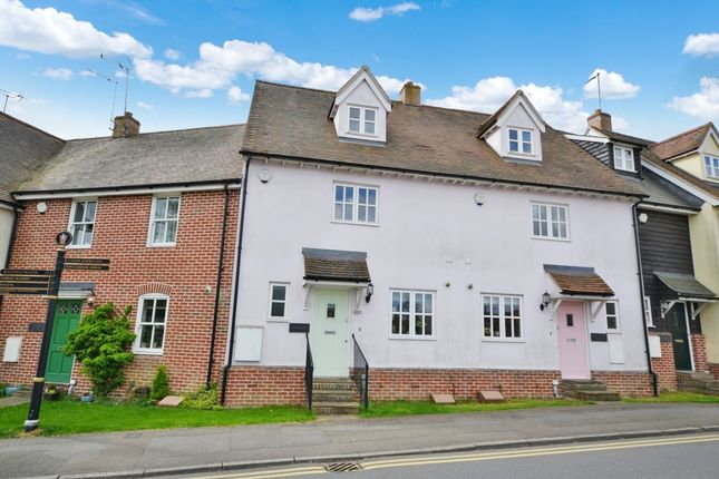 Thumbnail Terraced house for sale in Chequers Lane, Dunmow
