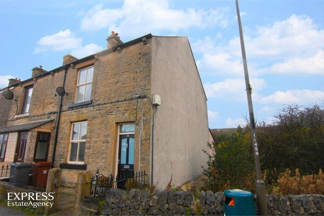 Thumbnail End terrace house for sale in Station Road, Dove Holes, Buxton, Derbyshire