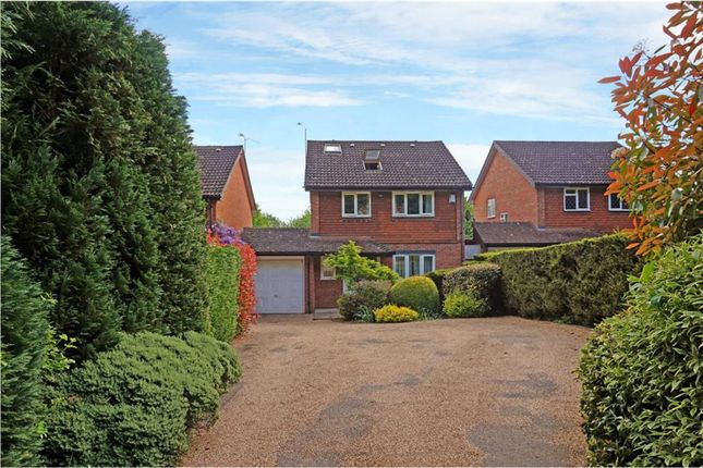 Thumbnail Detached house for sale in Wellington Avenue, Virginia Water