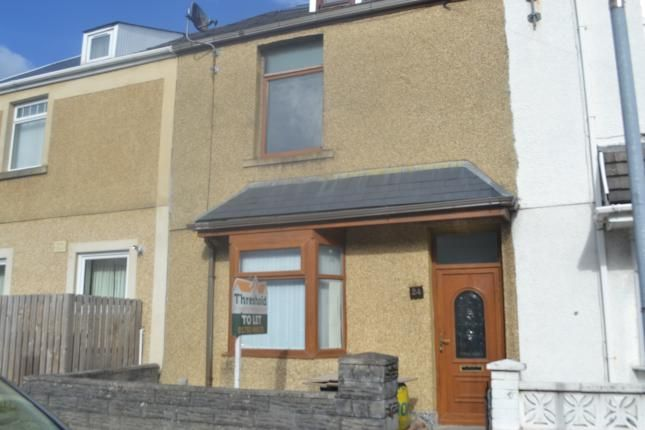 Thumbnail Terraced house to rent in Richardson Street, Swansea
