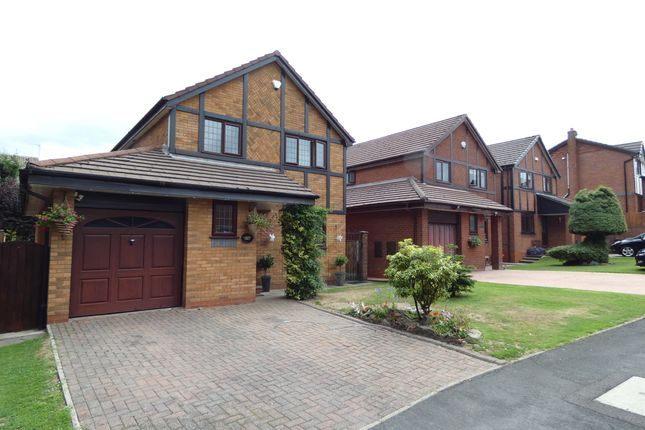 Thumbnail Detached house for sale in Moss Fold, Astley, Tyldesley, Manchester