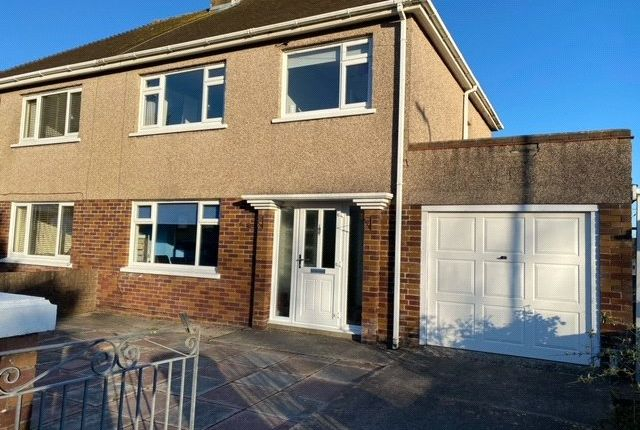 Thumbnail Semi-detached house for sale in Brian Crescent, Porthcawl