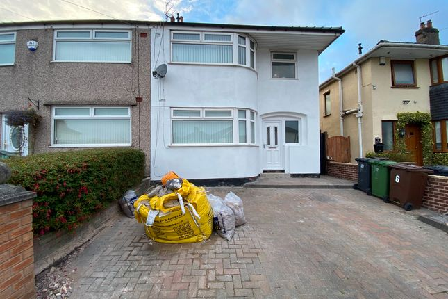 Thumbnail Semi-detached house to rent in Mostyn Avenue, Aintree, Liverpool