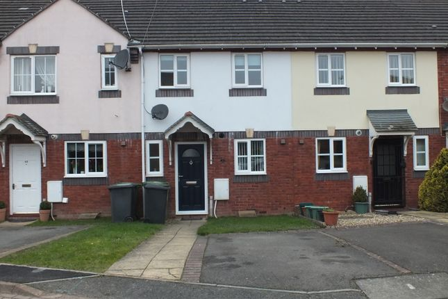 Thumbnail Terraced house to rent in Old Bakery Close, Exwick, Exeter, Devon.