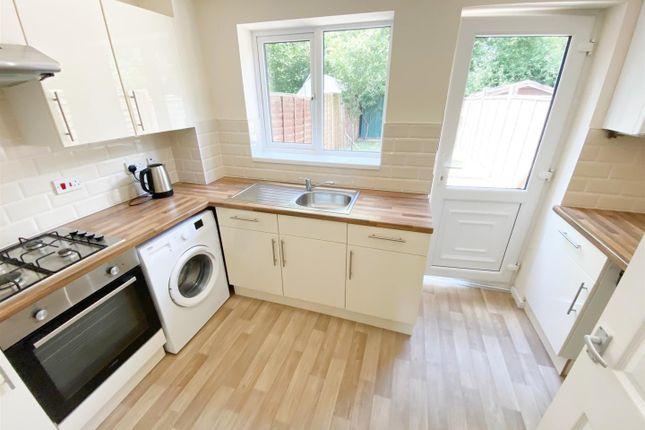 Thumbnail Terraced house to rent in Bosworth Place, Barleyhurst, Milton Keynes