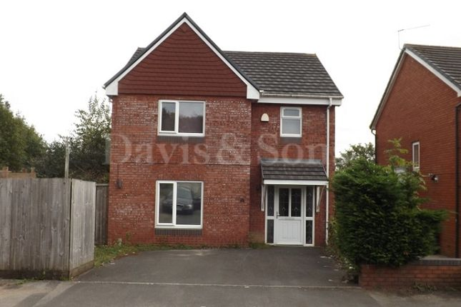 Thumbnail Detached house to rent in Royal Oak Drive, Off Chepstow Road, Newport.