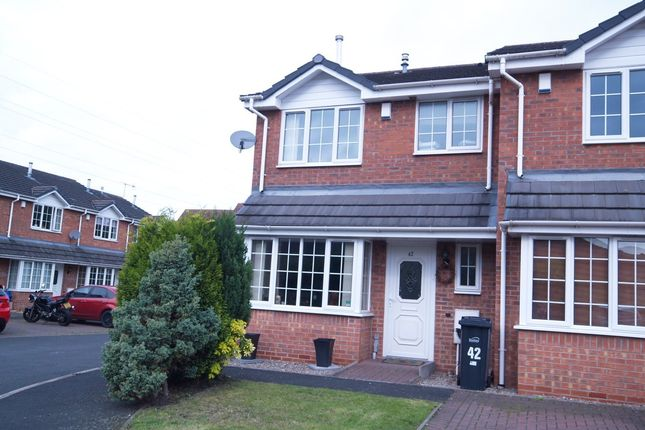 Thumbnail End terrace house for sale in Primrose Park, Pensnett, Brierley Hill