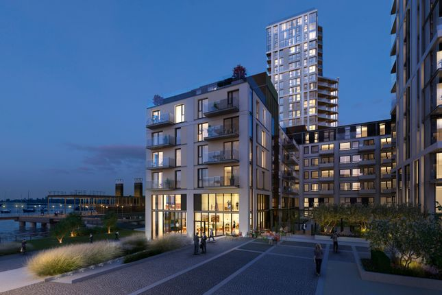 Thumbnail Flat for sale in Waterman Gardens, Lower Riverside, Greenwich Peninsula SE10, London,