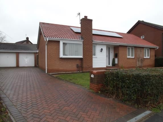 Thumbnail Bungalow for sale in Fisherfield Drive, Birchwood, Warrington, Cheshire