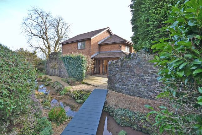 Thumbnail Detached house for sale in Outstanding Family House, The Rose Gardens, Newport