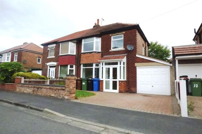 Thumbnail Semi-detached house to rent in 71 Boundary Rd, Cheadle