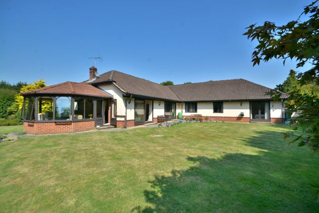 Thumbnail Detached bungalow for sale in Nyetimber Copse, West Chiltington, Pulborough