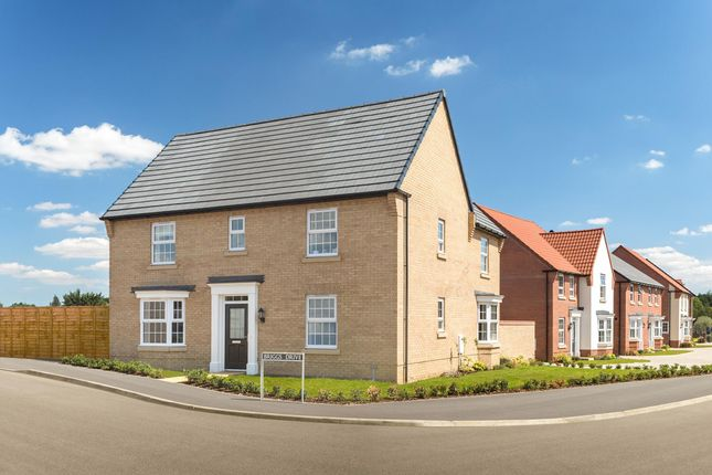 "Thumbnail Detached house for sale in ""Layton"" at Priorswood, Taunton"