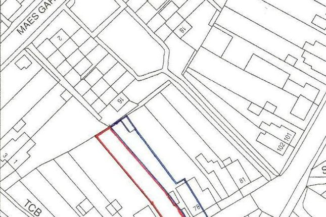 Location Plan of Leyshon Road, Gwaun Cae Gurwen, Ammanford SA18