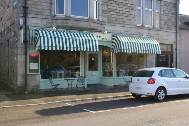 Thumbnail Restaurant/cafe for sale in Fresh! Café / Restaurant, 121 High Street, Aberlour