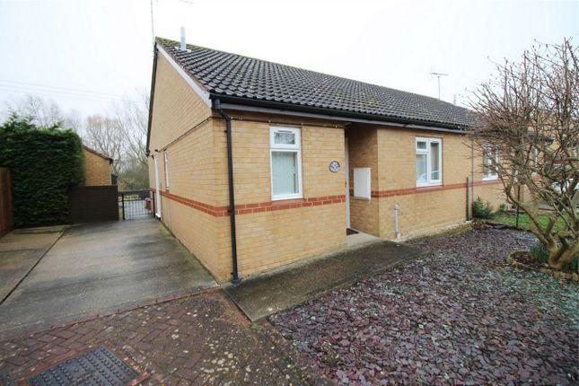 Thumbnail Semi-detached bungalow for sale in Windsor Gardens, Somersham, Huntingdon