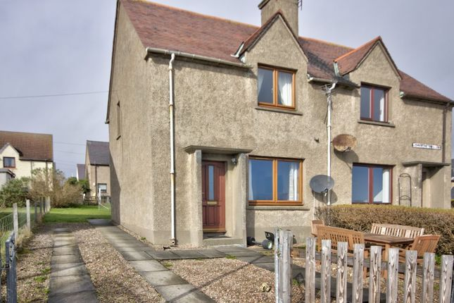 Thumbnail 2 bed semi-detached house for sale in Johnstone Crescent, Brora, Sutherland