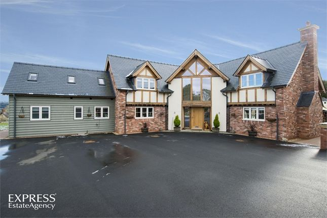 Thumbnail Detached house for sale in Llanyre, Llandrindod Wells, Powys