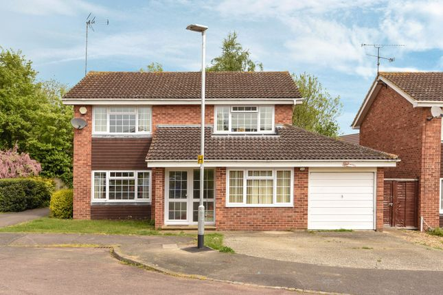 Thumbnail Detached house for sale in Askew Drive, Spencers Wood, Reading