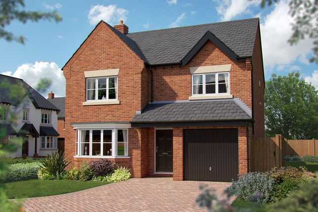 "Thumbnail Detached house for sale in ""The Durham"" at Haygate Road, Wellington, Telford"