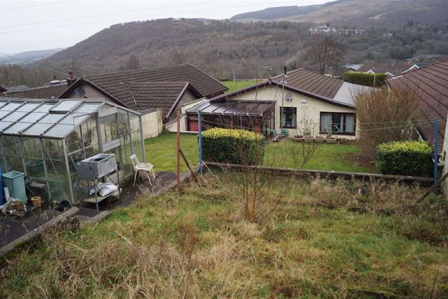 Exterior (Rear) of Cwm Alarch Close, Mountain Ash CF45