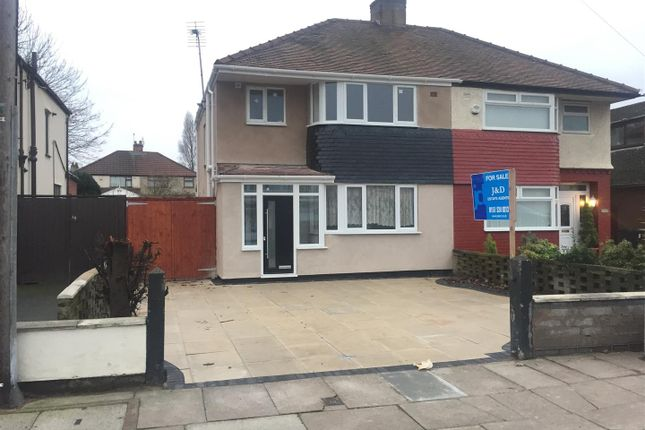 Thumbnail Semi-detached house for sale in Aintree Lane, Old Roan, Liverpool