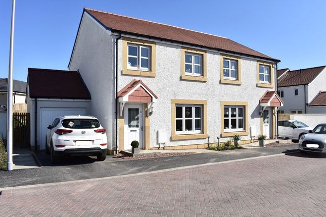 Thumbnail Semi-detached house for sale in Summerside Gardens, Newtongrange, Dalkeith