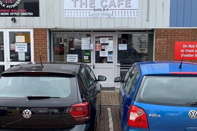 Thumbnail Restaurant/cafe for sale in John Wilson Business Park, Harvey Drive, Chestfield, Whitstable