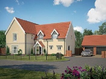 Thumbnail Link-detached house for sale in Cromer Road, Holt