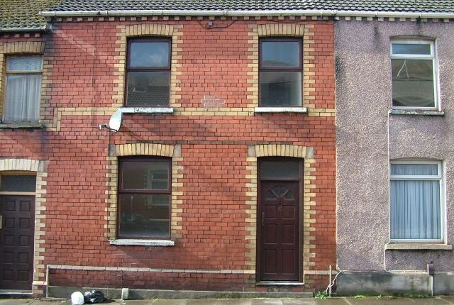 Thumbnail Terraced house to rent in Caradoc Street, Taibach