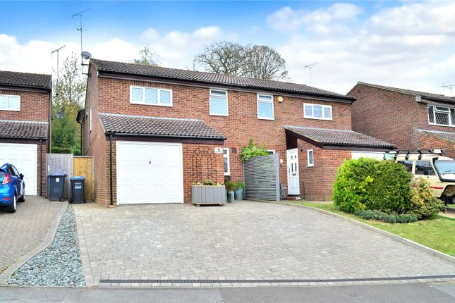 Thumbnail Semi-detached house for sale in Crawley Down, West Sussex