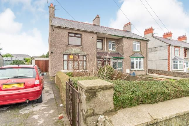 Front of Station Road, Valley, Holyhead, Sir Ynys Mon LL65