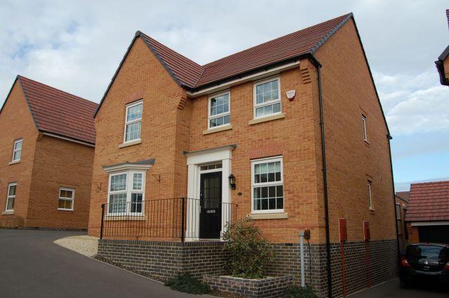 Thumbnail Detached house for sale in Harrison Road, Harlestone Manor, Northampton