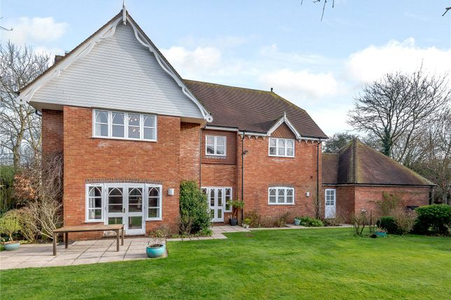 Thumbnail Detached house for sale in Cleves Lane, Upton Grey, Basingstoke, Hampshire