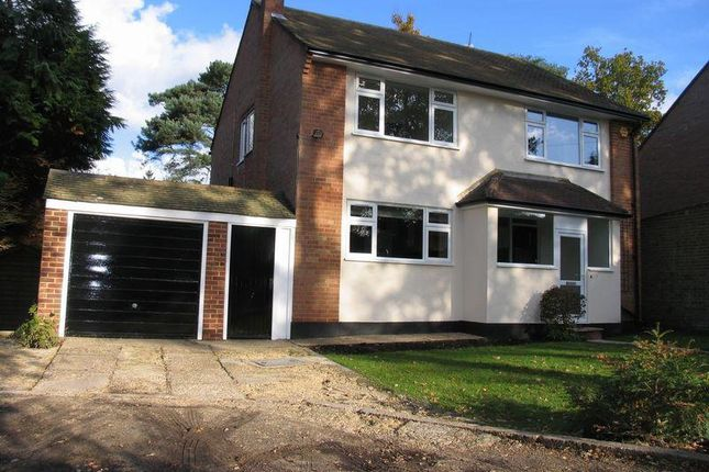 Thumbnail Detached house to rent in Fossewood Drive, Camberley