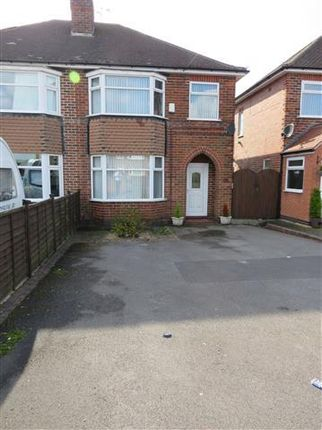 Thumbnail Semi-detached house to rent in Wiltshire Road, Chaddesden, Derby