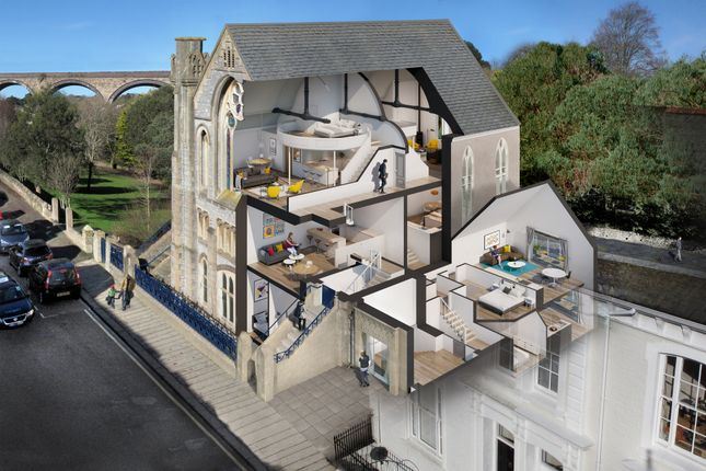 Thumbnail Flat for sale in St. Georges Road, Truro