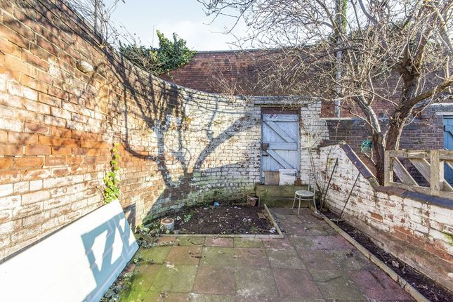 Rear Garden of Charles Street, Doncaster, South Yorkshire DN1