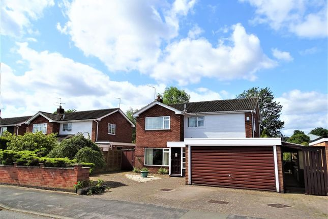 Thumbnail Detached house for sale in Warwick Avenue, Quorn, Loughborough