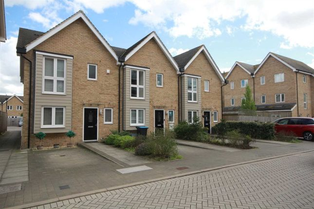 Thumbnail End terrace house for sale in Croxley Road, Nash Mills, Hemel Hempstead