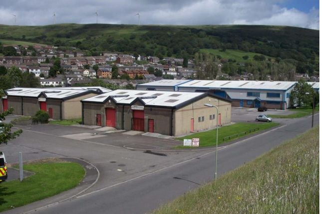 Industrial to let in Gelli Industrial Estate, Gelli, Pentre
