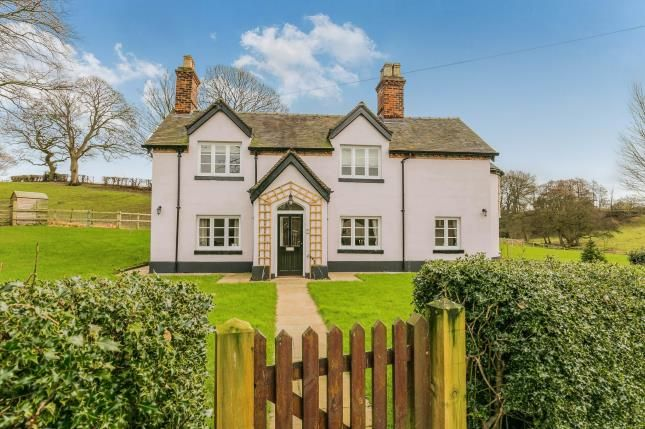 Thumbnail Detached house for sale in Englesea Brook, Crewe, Cheshire, Cheshire
