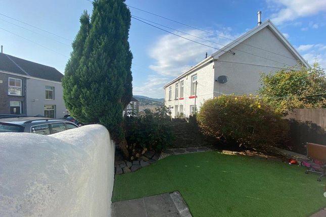 Garden of Bank Street, Penygraig, Tonypandy CF40