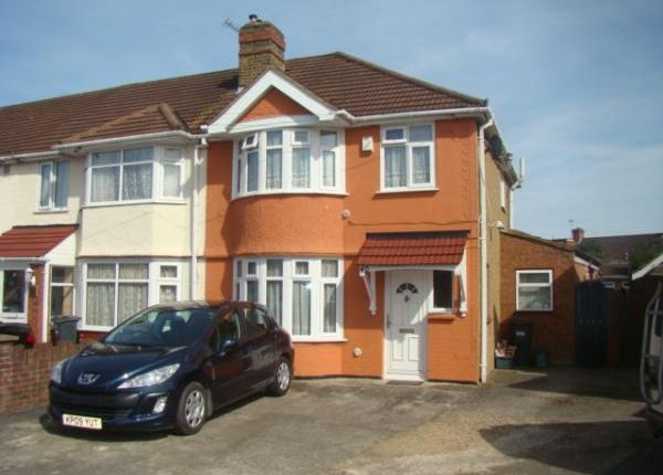 Thumbnail Semi-detached house for sale in Meadowbank Gardens, Cranford