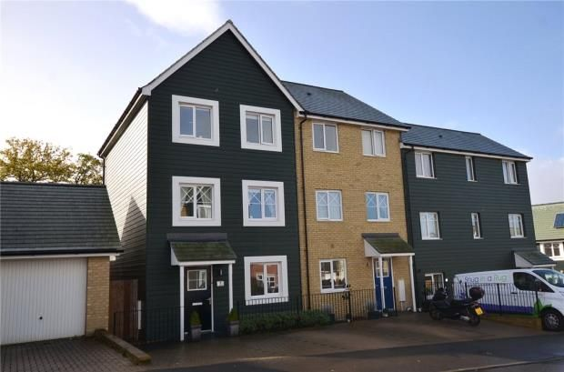 Thumbnail End terrace house for sale in Rana Drive, Church Crookham, Fleet